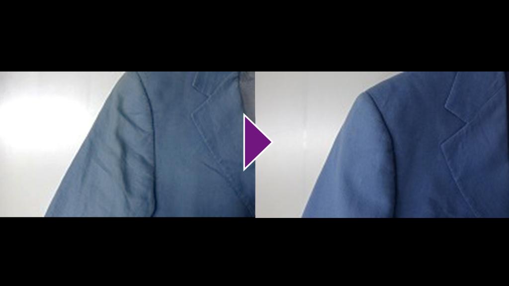 GIANNI VERSACEの紳士ジャケットのリプロン事例紹介