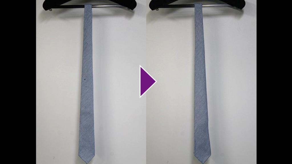 BORRELLIのネクタイのリプロン事例紹介(全体像)