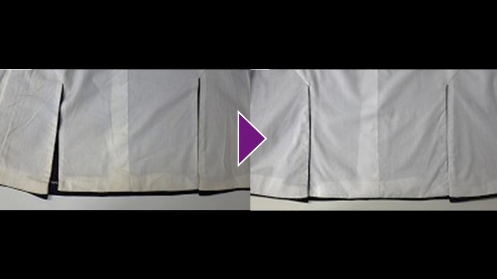 BARNEYSNEWYORKの背広上着のリプロン事例紹介