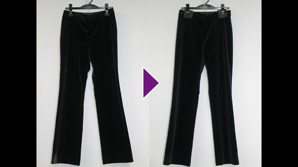 BALLSEYの婦人パンツのリプロン事例紹介(全体像)