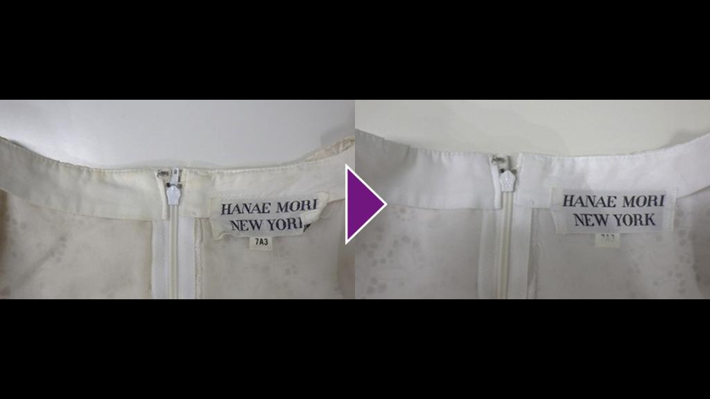HANAE MORIの半袖タイトワンピース