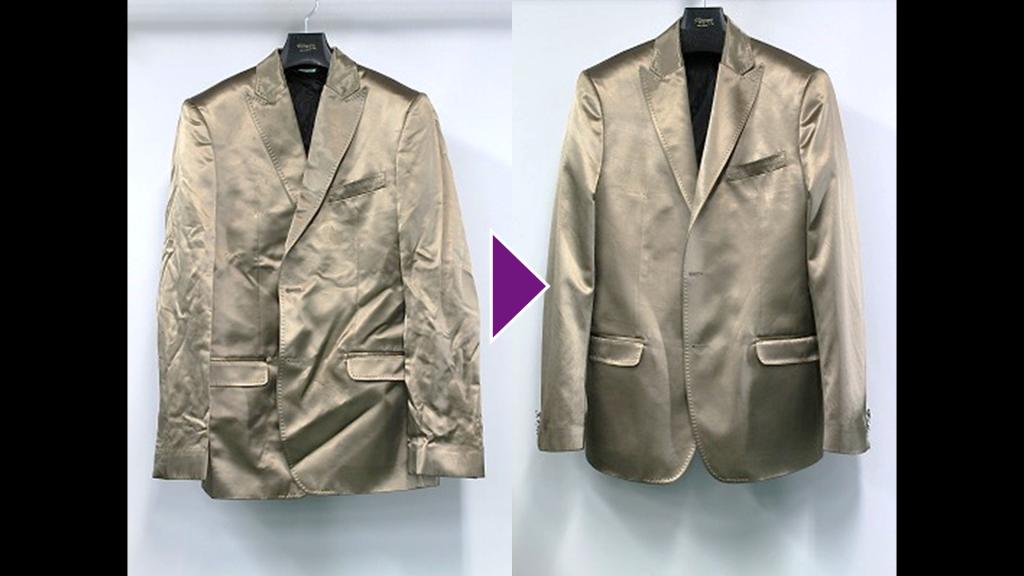 D&Gの背広上着のリプロン事例紹介(全体像)