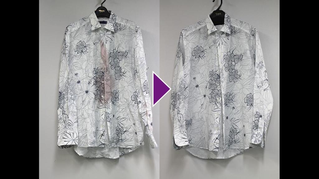 ETROの長袖シャツのリプロン事例紹介(全体像)