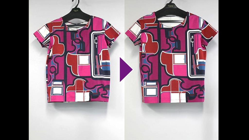 HERMESの半袖Tシャツのリプロン事例紹介(全体像)