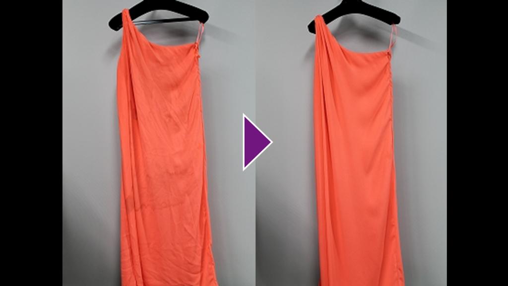 DIANE VON FURSTENBERGのドレスのリプロン事例紹介(全体像)